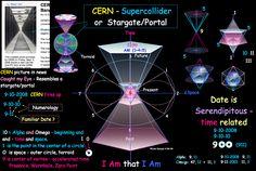 CERN Supercollider + Sacred Geometry   #cern #sacredgeometry