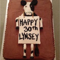 Chick-fil-a birthday cake!!