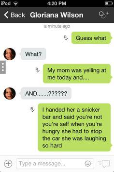 Lol texts funny
