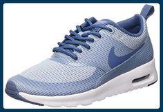 Nike Air Max Thea Textile Damen Sneakers, azul (blue grey/ocean fog-white), 38 EU - Sneakers für frauen (*Partner-Link)