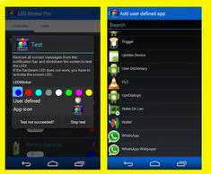 طريقة تغيير لون الإشعارات LED على هاتفك الأندرويد من خلال تطبيق LED Blinker Notifications Pro المدفوع 2020 Apps, Iphone, Technology, App, Appliques