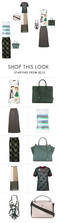 """Modalist fashion designer"" by ramakumari ❤ liked on Polyvore featuring Dolce&Gabbana, Yves Saint Laurent, Maison Margiela, P.A.R.O.S.H., Gig, Fendi, ADRIANA DEGREAS, Martha Medeiros, summerstyle and fashionable"
