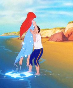 One of my favorite parts! Disney reenactments <<< The Little Mermaid Disney Pixar, Disney And Dreamworks, Disney Animation, Disney Cartoons, Disney Kunst, Arte Disney, Disney Art, Disney Magie, Photo Vintage