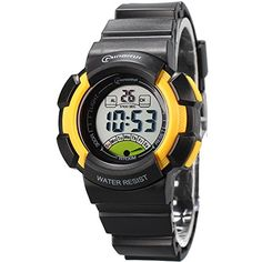 Halumi Waterproof Digital Sport Watch for Boys Student Wristwatches *** Check out this great product.