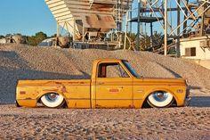 heavy lids over sleepy eyes Bagged Trucks, Lowered Trucks, C10 Trucks, Mini Trucks, Pickup Trucks, Lowered C10, Dropped Trucks, 67 72 Chevy Truck, Chevy C10