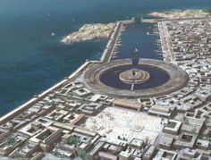 Carthage Seaport.  An amazing feat of engineering and architecture.