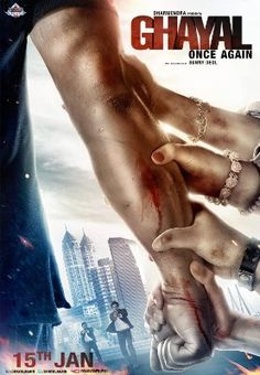 "WATCH MOVIE ""Ghayal Once Again 2016""  in hindi rarBG MKV 1080p viooz thepiratebay BrRip Dub"