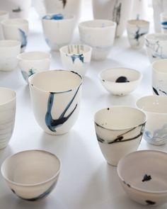 Best Ceramics Tips : – Picture : – Description Katherine Glenday -Read More – Ceramic Tableware, Porcelain Ceramics, Ceramic Bowls, Ceramic Art, Pottery Mugs, Ceramic Pottery, Pottery Art, Thrown Pottery, Slab Pottery
