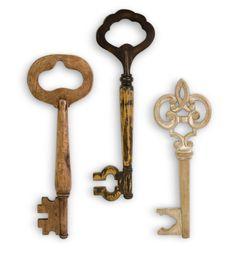 Hom Furniture Mason Wall Keys Set of 3