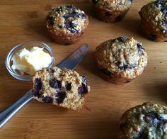 My Tiny Oven: Saskatoon Berry Oat Muffins