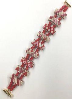 Carrier Bead Peyote Stitch Patterns geometrics
