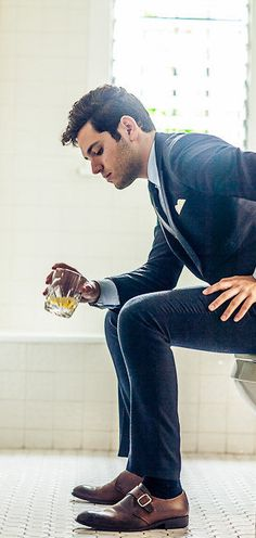 Tiger of Sweden suits is always a great friend and works excellent with your tie. #LesBeauxHabits