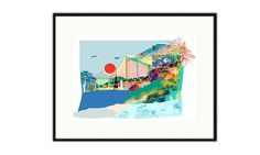 Beautiful limited edition Tokyo print.Also available in AmsterdamThis Giclée print is a lovely gift for any occasion. It looks beautiful in any room. Hand signed and numbered on the front of print. Giclée is a recognised and collectable category of fine art. Giclee prints are guaranteed to not fade or age and have a colour life of 75-100 years. The Giclee printing process ensures a print with brilliant colour and razor sharp detail. All prints will be carefully wrapped in ...