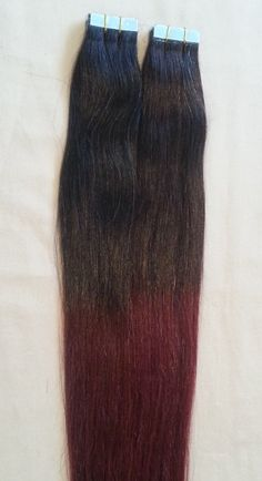 18 OMBRE 100grs40pcs 100 Human Tape In Hair by Hairfauxyou on Etsy, $99.99
