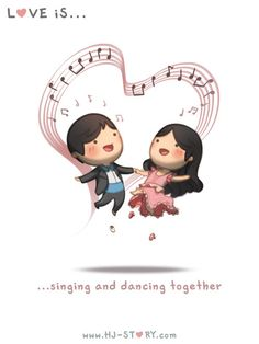 """Check out the comic """"HJ-Story :: Love is... singing and dancing"""" http://tapastic.com/episode/11015"""