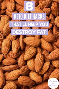 These Keto Diet hacks are THE BEST! I'm so happy I found these GREAT ketogenic diet tips! Now I have some great ways to lose weight and stick to the keto diet. #Macarons&Mochas #KetoHacks Diet Hacks, Diet Tips, Ways To Lose Weight, Weight Loss Tips, Health Diet, Mocha, Macarons, Ketogenic Diet, Healthy Recipes