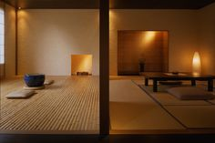 At Beniya Mukayu hotel in Kanazawa, you can eat kaiseki-style, sleep on futons, start every day with free yoga and end every night in your private onsen (spa bath). Japan Interior, Free Yoga, Japanese Architecture, Mind Body Soul, Japanese House, Japanese Design, Minimalist Interior, Interior And Exterior, Modern Design