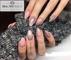 Ombre geometryczne nails #ombre #ombrenails #geometricombre #ombregeometryczne #gelnails #nailstagram #nailsofinstagram #indigonails #indigo #naildesigns #nudenails #outumnnails #