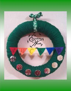 Lucky  St. Patty's Day Wreath by EverlastingWreaths1 on Etsy, $35.00