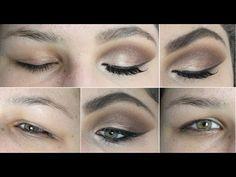 Maquiagem para Pálpebra Gordinha e Olhos Pequenos! Como Aumentar os Olhos com Maquiagem! - YouTube
