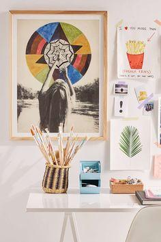 Alexandra Valenti All Seeing Storm Art Print