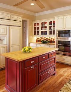 Stained Or Painted Kitchen Island? U2022 Kelly Bernier Designs