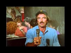 """I have been looking for this video forever.  Tom Selleck in Magnum PI singing """"Misty"""""""