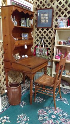 $99 Desk, Hutch & Chair ( Set ) @ Brass Bear 2652 Valleydale Rd. 35244 -- 205-566-0601 Open 10AM to 6PM Mon-Sat and Sunday 1-5pm