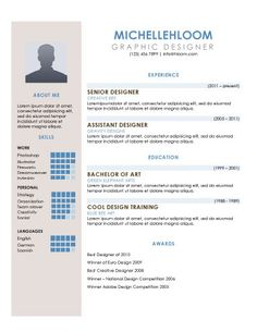 sidebar free resume template by hloomcom - Traditional Resume Template Free