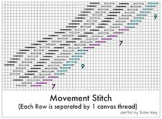 Needlepoint Study Hall: 12 new stitch guides from Robin King