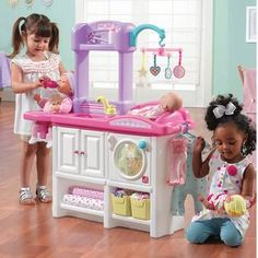 Teamson Kids Little Chef Paris Play Kitchen Set & Reviews | Wayfair Wooden Play Kitchen, Play Kitchen Sets, Kids Role Play, Pretend Play, Doll Clothes Hangers, Nursery Activities, Old Room, Bright Kitchens, Imaginative Play