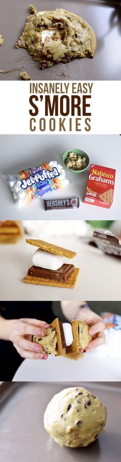 How to Make Sleazy S'Mores Chocolate Chip Cookies