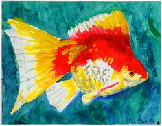 Easy Acrylic Paintings   ... are four fish paintings in this art gallery i wonder what that means
