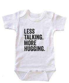 "- Mommies never worked so hard until their special personal trainers came into their life. ""Mommy Personal Trainer"" infant snapsuit apparel makes great baby shower gift. Toddler Outfits, Baby Boy Outfits, Kids Outfits, Little Babies, Cute Babies, Baby Onesie, Onesies, Baby Hug, Boss Baby"