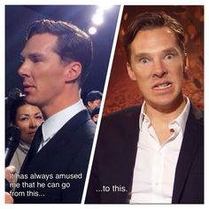 Benedict and his expressions. Stately to Smaug.