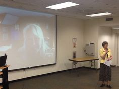 "first time I've ""seen"" myself Skyping a presentation!"