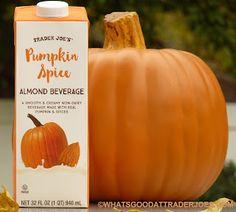 What's Good at Trader Joe's?: Trader Joe's Pumpkin Spice Almond Beverage