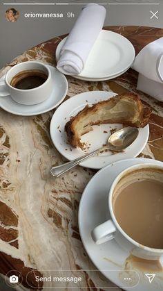 Food N, Good Food, Food And Drink, Coffee Date, Coffee Break, Aesthetic Food, Healthy Treats, Recipe Of The Day, Cravings