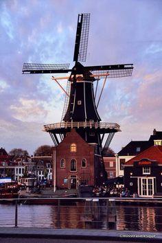 Haarlem, Netherlands Windmills