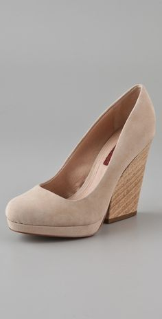 7 For All Mankind Olivia Cutout Wedge thestylecure.com