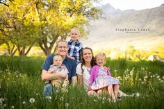 Stephanie Lance photography: family picture ideas. family of 5 picture ideas