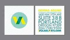 55 Modern Square Mini Business Cards