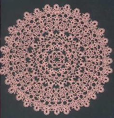 Brilliant tatting pattern to follow, even for beginners. It looks so intricate for being easy to create.