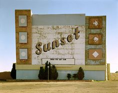 """theimagerie:  """"Stephen Shore, West Ninth Avenue, Amarillo, Texas, October 2, 1974.  From the series Uncommon Places  """""""