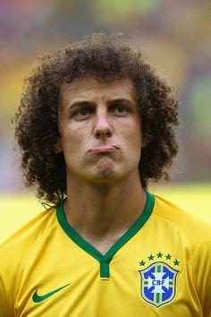 David Luiz: curls are a little confusing...