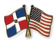 Dominican/US Flag