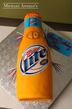 Pin Cakes Michelob Ultra Birthday Cake On Pinterest