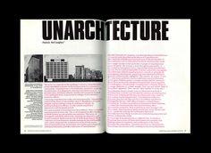 Re:collection | Architecture Australia Unarchitecture Spread