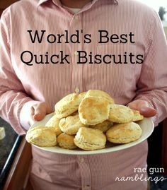 Worlds Best Quick Biscuit Recipe So So Yummy I've Had These A Number Of Times.