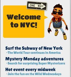 Play Subway Surfers Game in New York City, America In New Update, Added New Outfits - Awalkonda.com